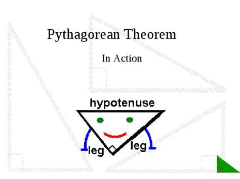 pythagorean theorem docslide