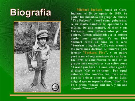 la biography de michael jackson michael jackson