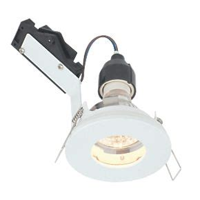 240v bathroom downlights lap fixed round mains voltage bathroom downlight gloss