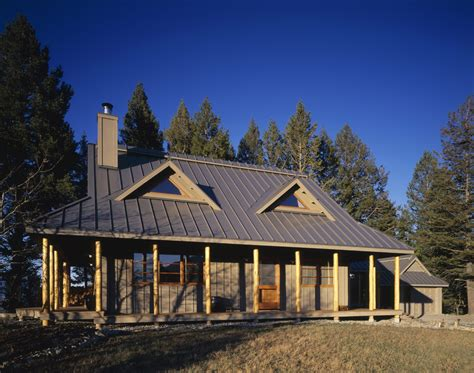 pole barn homes exterior rustic with entrance cabin