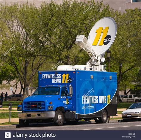 truck washington dc washington dc usa truck with satellite dish