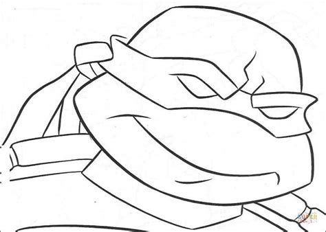 ninja turtles face coloring page ninja turtle s face coloring page free printable
