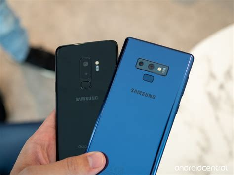 samsung galaxy note 9 vs galaxy s9 which should you buy