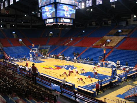 Section 2a by Allen Fieldhouse Section 2a Rateyourseats