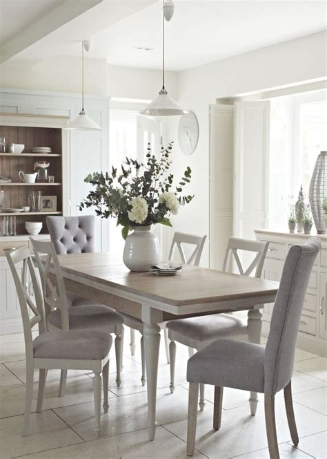 Grey Dining Room Furniture Grey Painted Dining Room Furniture 15237