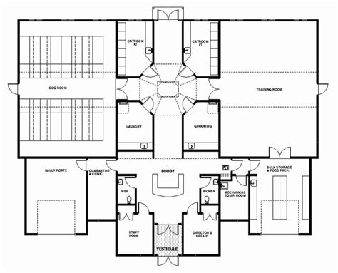 dog house layouts like general layout of sm facility dog care facility