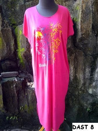 Baju Kaos Bambu Bali Dengan Lengan baju bali murah daster bambu