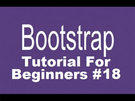 bootstrap tutorial popup bootstrap tutorial for beginners 18 bootstrap modal