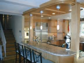 kitchen island columns columns on kitchen island kitchen reno