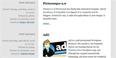 newspaper layout code build a basic newspaper style layout with wordpress and jquery