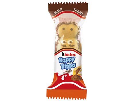 Kinder Happy Hippo Cocoa T5x20 7g kinder happy hippo cacao
