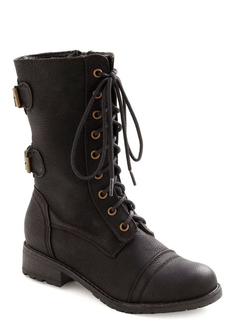 boots from you tread it boot mod retro vintage boots modcloth