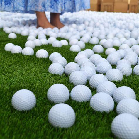 Golf Pu Foam Practice White by 10pcs White Pu Foam Golf Indoor Outdoor Practice