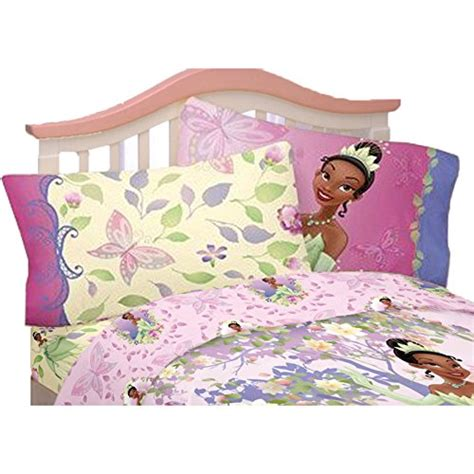 4pc disney princess and the frog full bed sheet set