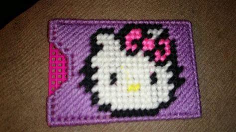 Hello Kitty Gift Card Holder - 17 beste afbeeldingen over plastic canvas patterns op pinterest cadeaubon houders