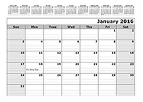 Calendars That Work With Lines 2016 Calendar Templates 2016 Monthly Yearly