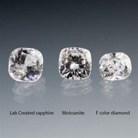 Liontin Zircon Premium Look Like A white sapphire vs moissanite vs
