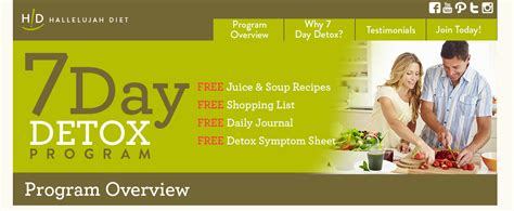 Do Detox Programs Work by 7 Day Detox Program Overview Hallelujah Diet