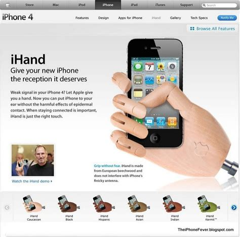 the iphone fever iphone jokes the new ihand