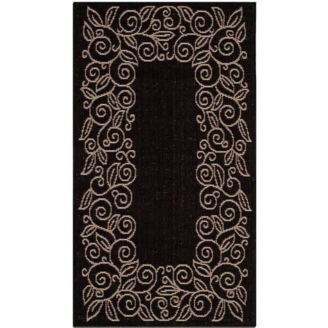 vegas area rug large squares black 2 x 3 surya safavieh courtyard black beige 7 ft 10 in x 7 ft 10 in