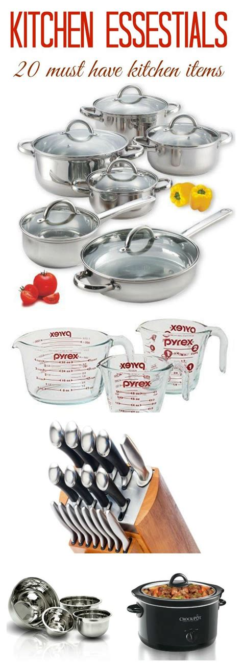 best kitchen items best kitchen essentials list ideas on pinterest kitchen