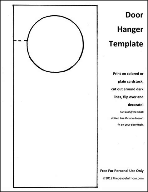 Diy Holiday Door Hanger With Free Template Sleep Boys And Christmas Door Hangers Scout Door Hanger Template