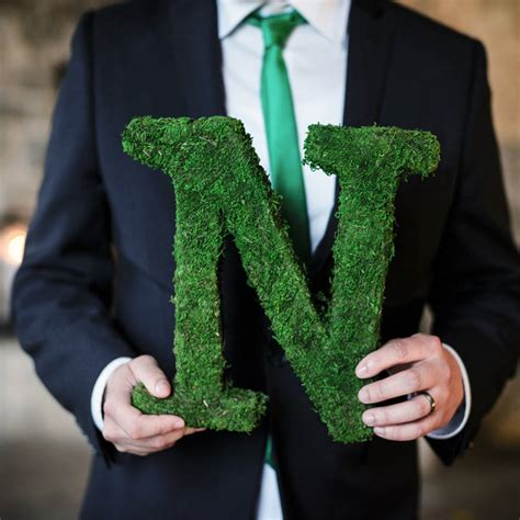 large moss covered letters image collections cover