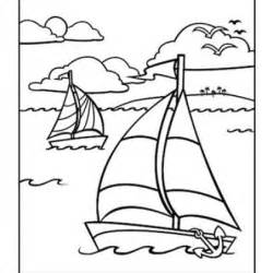 Coloring Pages For Kids Coloring Summer And Boats Nautical Coloring Pages