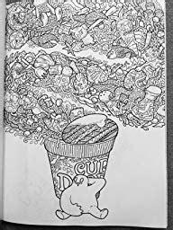 doodle fusion zifflins coloring doodle fusion zifflin s coloring book volume 2 zifflin lei melendres 9781517376918 amazon