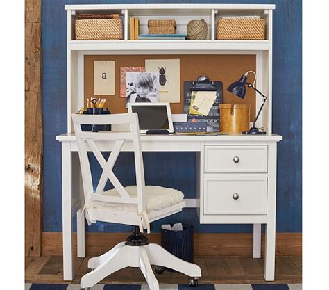Child Desk With Hutch Elliott Desk Hutch Pottery Barn