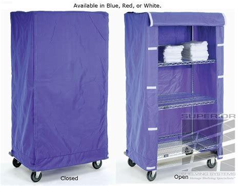 nylon shelf covers clear vinyl cart covers nexel
