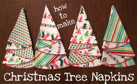 christmas tree table napkins pattern best 25 christmas tree napkins ideas on pinterest diy
