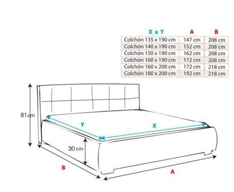 cama medidas medidas de camas elegant medidas de las camas with