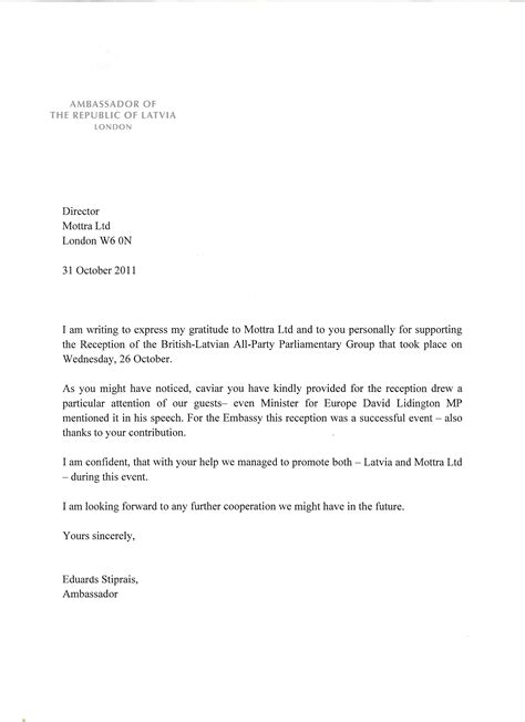 Exle Invitation Letter To His Excellency Featured Press And Mottra Sturgeon Caviar Buy 0203 008 4671