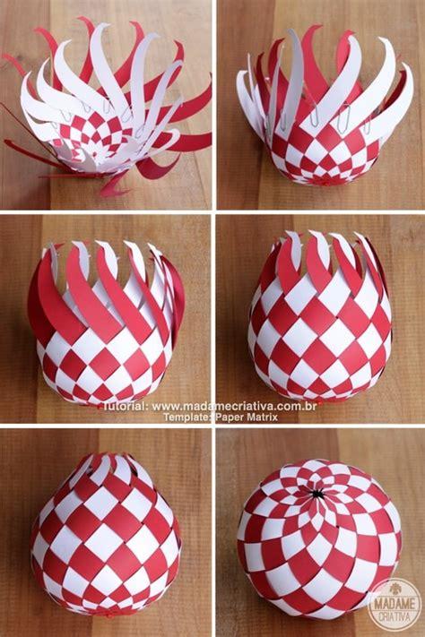 Make Paper Balls - bolas de natal de papel madame criativa decora 231 227 o