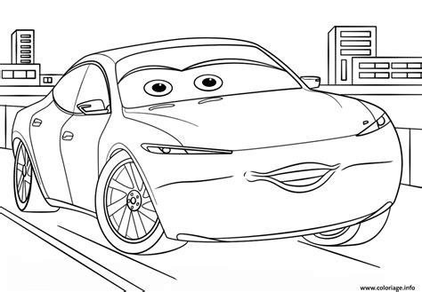Cars 3 Sketches by Coloriage Natalie Certain From Cars 3 Disney Dessin