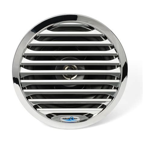 boat speakers specifications 6 5 quot pro series chrome marine speaker aq spk6 5 4lc