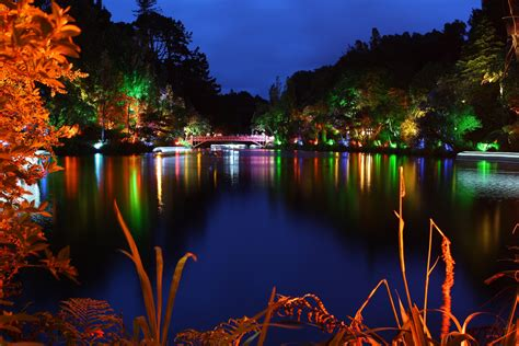 festival of lights new plymouth lake 1 pukekura park festival of lights new plymouth