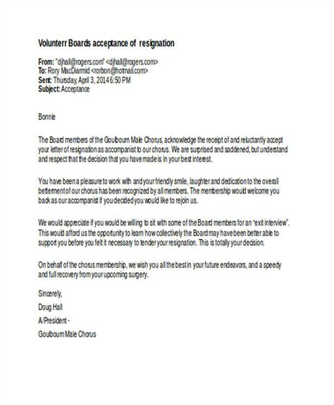 sle letter resignation charity board 28 images