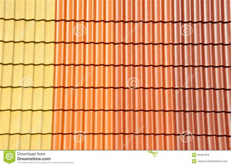 Roof Tile Colors Roof Tiles Colors Royalty Free Stock Image Image 34487816