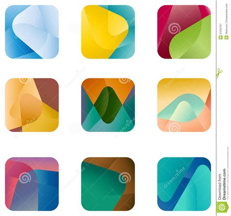 app icon design template design square logo vector icon template royalty free