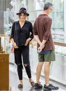 Cushion Setting Engagement Ring Jesinta Campbell Heads To Jeweller To Have Her Engagement
