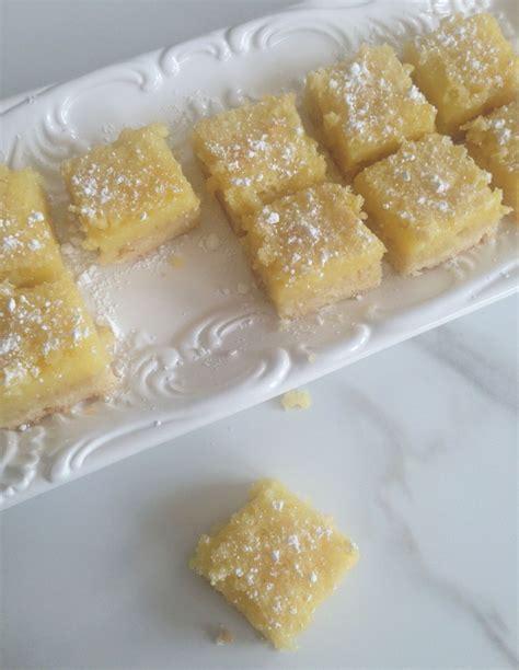 Dessert Recipe: Lemon Bars - The Taylor House Lemon Dessert Bars