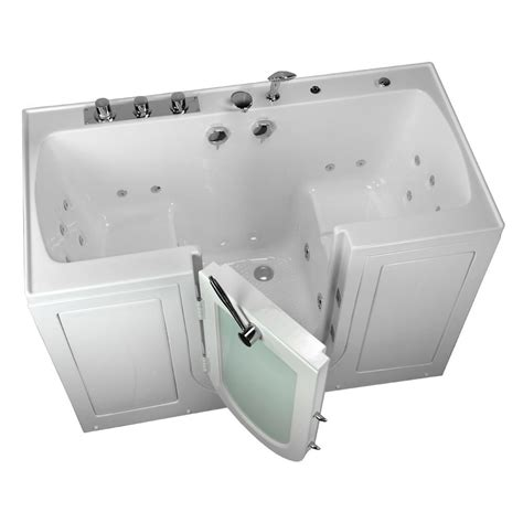 Walking Bathtub by Ella 5 Ft Tub4two 2 Seat Acrylic Walk In Whirlpool
