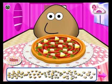 juegos de pisas juego pou pizza chef youtube