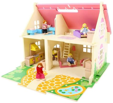 portable doll house portable wooden doll house doll accessory alzashop com