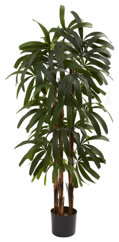 artificial tropical plants and trees 4 quot raphis palm tree tropical artificial plants and