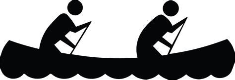 clipart etc canoeing silhouette clipart etc