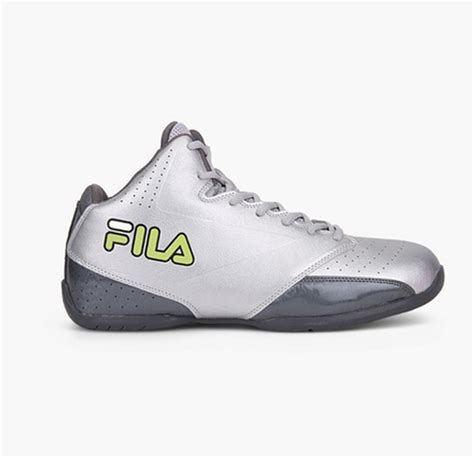 silver basketball shoes fila reversal silver basketball shoes buy fila reversal