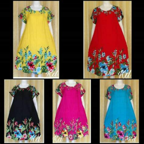 Bali Dress Daster 7 daster bali rayon motif bunga dress baju tidur harga